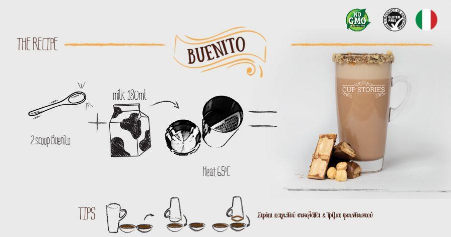 Συνταγή Buenito ζεστό ρόφημα